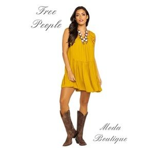 Free People Want Your Love Mini Dress